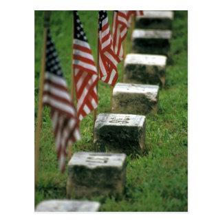 Postal Los E.E.U.U., Pennsylvania, Gettysburg. Guerra