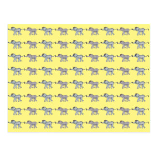 Postal Los elefantes encadenan por los Happy Juul Company