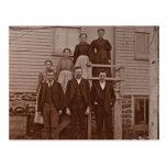Postal Los niños de Juan y de Maria Rupp circa 1875