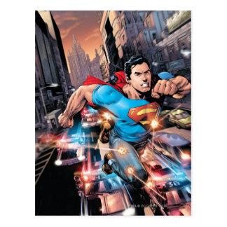 Postal Los nuevos 52 - superhombre #1 2