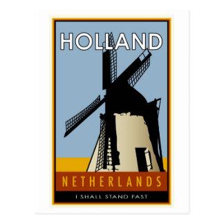 Postal los Países Bajos