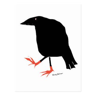 Postal Los pies de cuervo