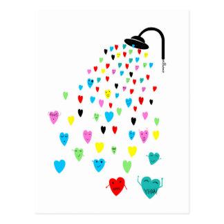 "Postal ""Love Shower"" Postcard"