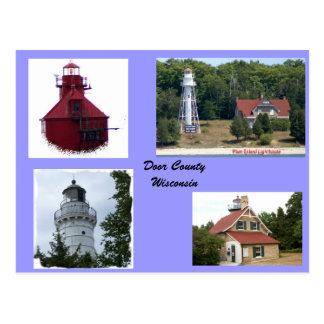 Postal Luces del condado de Door
