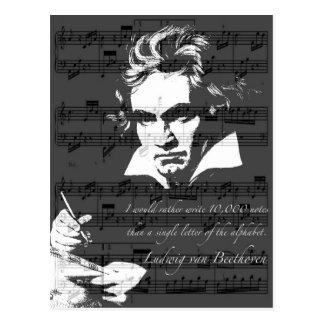 Postal Ludwig van Beethoven