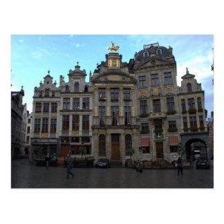 Postal Lugar magnífico, Bruselas