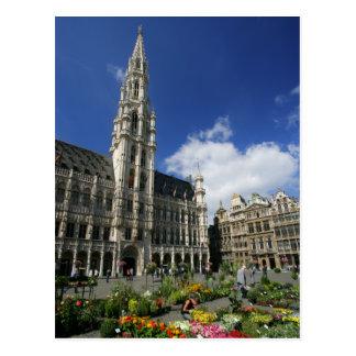 Postal lugar magnífico, Bruselas Bélgica
