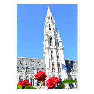 Postal Lugar magnífico del La, Bruselas