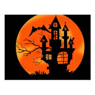 Postal Luna de Halloween
