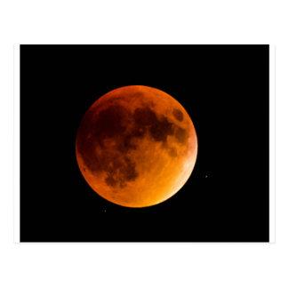 Postal Luna de la sangre
