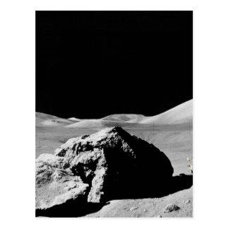 Postal Lunar superficie