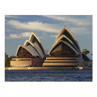 Postal Luz temprana en el teatro de la ópera de Sydney,