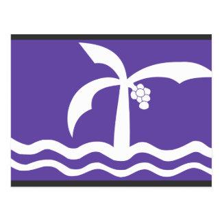 Postal Macae de Bandeir, el Brasil