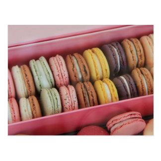 Postal Macarons en diversos colores
