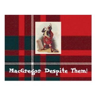 Postal ¡MacGregor a pesar de ellos postales!