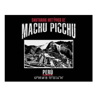 Postal Machu Picchu
