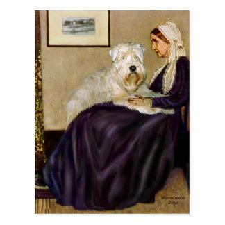 Postal Madre de Whisterls - Terrier de trigo 1