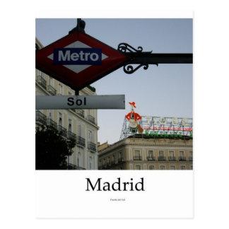 Postal Madrid, Puerta del Sol
