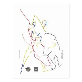 Postal- Maestro w Dibujante Postal