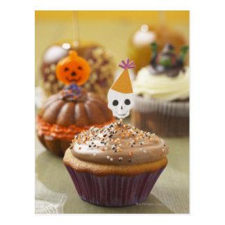 Postal Magdalena de Halloween