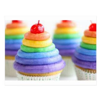 Postal Magdalenas del arco iris