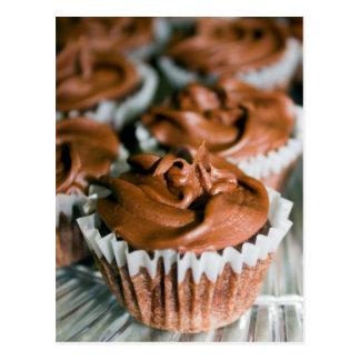 Postal Magdalenas heladas chocolate en una foto de la