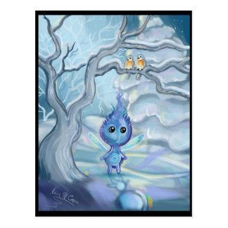 Postal Magia del invierno