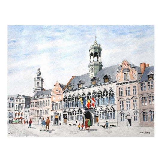 Postal Magnífico-Lugar del La, Mons, Bélgica