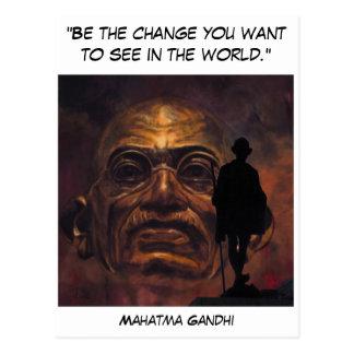 Postal Mahatma Gandhi