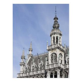 Postal Maison du Roi, Bruselas, Bélgica