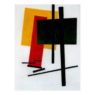 Postal Malevich - Suprematism 1915