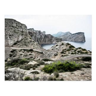 Postal Mallorca - el extremo del mundo