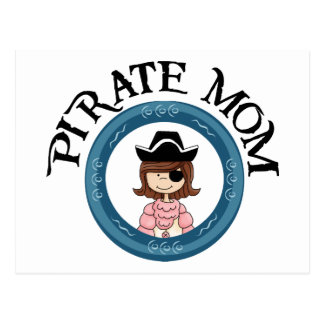 Postal Mamá del pirata