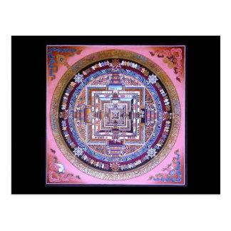 Postal Mandala de Kalachakra