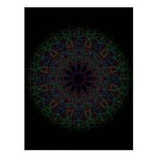 Postal Mandala de la catedral del arco iris