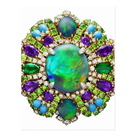 Postal Mandala de la joyería