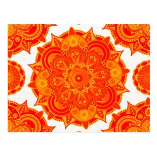 Postal Mandala sacra de Chakra