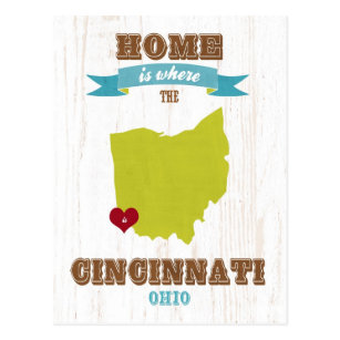 Tarjetas Cincinnati Ohio Zazzle Es