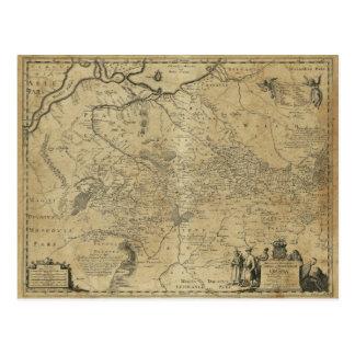 Postal Mapa de Ucrania (1648)