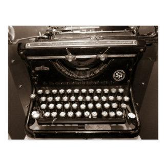 Postal Máquina de la máquina de escribir