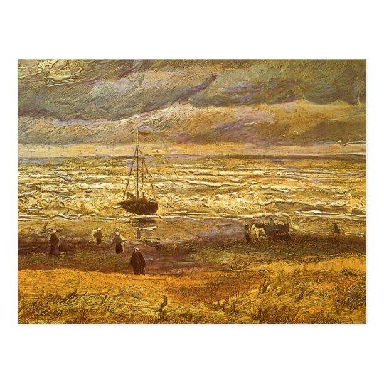 Postal Mar en Scheveningen de Vincent van Gogh