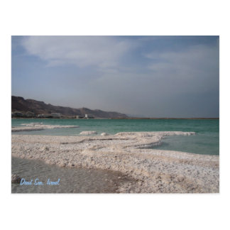 Postal Mar muerto, Israel
