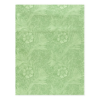 Postal Maravilla de William Morris (verde)