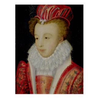 Postal Marguerite de Valois c.1572