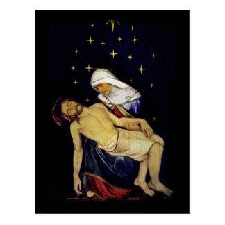 Postal Maria que detiene a Jesús