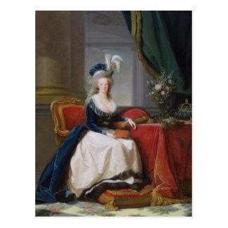 Postal Marie-Antonieta 1788