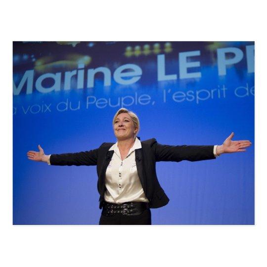 Postal Marine Le Pen