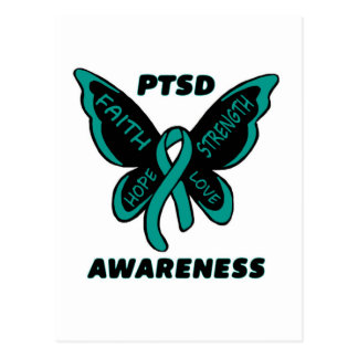 Postal Mariposa/conciencia… PTSD