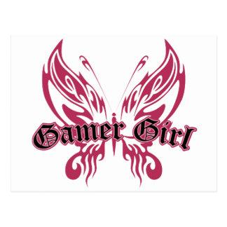 Postal Mariposa del videojugador