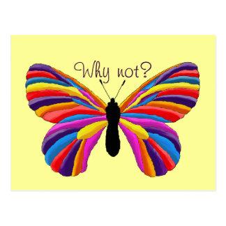 Postal ¿Mariposa imposible - por qué no?